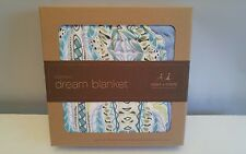 NEW ADEN + ANAIS 4 LAYER Bamboo DREAM Blanket Wild One MUSLIN Baby Boy Opt1