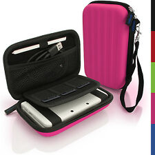 Pink EVA Hard Carry Case Cover for New Nintendo 3DS 2015 Sleeve Bag Pouch