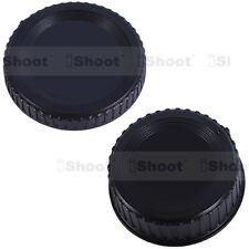 Rear lens cover ✚ camera body cap for Nikon D7000 D2X D2H D200 D1X D1H D100 D50