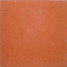 90 Mexican Tiles Talavera Ceramic #S09 SOLID TERRACOTTA COLOR