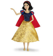 "Disney Authentic Snow White Poseable Toy Doll Figure 12"" Girls Princess Gift NIB"