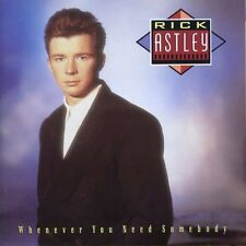 Rick Astley Whenever You Need Somebody (CD)(1987) CD