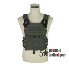 Green Light Weight JPC Tactical Police MOLLE Vest Carrier Operator Compact