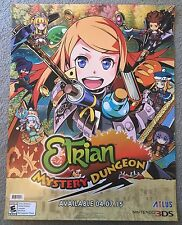E3 PAX GameStop 2015 ETRIAN Odyssey Mystery Dungeon Atlus Exclusive Poster