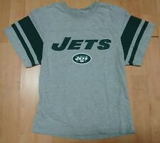 NFL New York Jets Youth Small (8) NFL Team Apparel Shirt