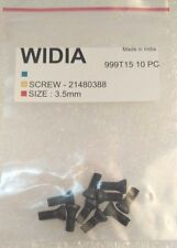 LOT OF 50 TORX SCREWS WIDIA M3.5X9mm SCREW FOR INSERT