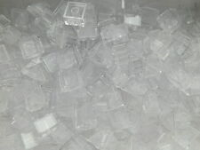 LEGO Slopes Tiles # TRANS CLEAR 2x2 glass window # x 100 pieces # ice snow water