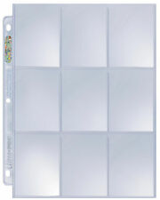 1 Case of 1000 Ultra Pro Platinum 9 Pocket Pages Card Storage Sheets Holders