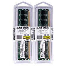2GB 2 x 1GB DDR 2 Desktop Modules 5300 ECC 667 240 pin 240-pin 2G Memory Ram Lot
