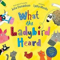 NEW  -  WHAT THE LADYBIRD HEARD paperback book by Julia Donaldson