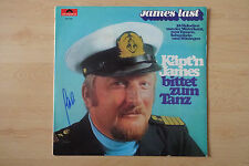 "James Last Autogramm signed LP-Cover ""Käpt`n James bittet zum Tanz "" Vinyl"