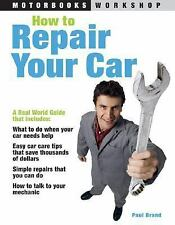 How to Repair Your Car (Motorbooks Workshop)-ExLibrary