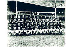 1949 NEW YORK YANKEES 8X10 TEAM PHOTO  FOOTBALL NFL HOF AAFC