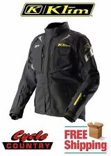 KLIM BADLANDS PRO GORE-TEX ARMORED ADVENTURE MOTORCYCLE JACKET BLACK 2XL NEW