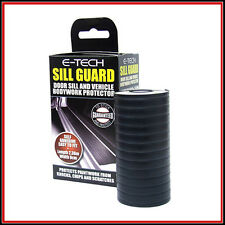 CAR & VAN DOOR SILL & BODYWORK PROTECTOR / TRIM GUARD BLACK -SELF-ADHESIVE