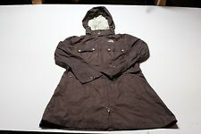 THE NORTH FACE GRACE HYVENT DT Womens Size Large L Hooded Peeling Shell Jacket