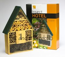 Ex Large Insect Hotel Bug House Garden Bee Butterfly Ladybird Hibernation Nest