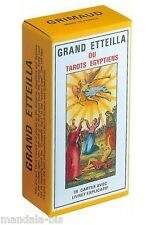Grand Etteilla ou Tarots Egyptiens - 78 Cartes & Livret (Egyptian Gypsies Tarot)