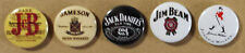 5 SPILLETTE Whisky Whiskey collezione pins spille