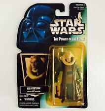 "HASBRO STAR WARS 3.75INCH POWER OF THE FORCE "" BIB FORTUNA "" - RARE"