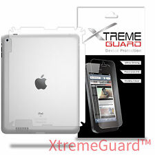 XtremeGuard BACK ONLY LCD Screen Protector Skin For Apple iPad 4th Generation
