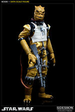 SIDESHOW LIMITED EDITION BOSSK NEW IN BOX STAR WARS SCUM VILLAINY BOBA FETT