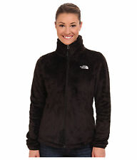 The North Face Osito 2 Full Zip Silken Fleece Jacket Black Womens