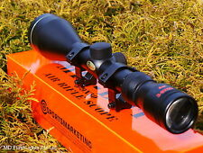 SMK 3-9X50 MILDOT ZOOM AIR RIFLE GUN SCOPE SIGHT TELESCOPIC SIGHT & MOUNTS
