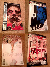 Graphic Novels (4-Pack) Unknown Soldier, 100 Bullets, The Unwritten, Fables