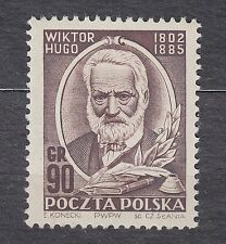 POLAND 1952 **MNH SC#SC#559  150th anniversary of Victor Hugo's Birthday