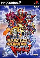 Used PS2 Super Robot Taisen Impact Japan Import (Free Shipping)