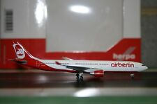Herpa Wings 1:500 Air Berlin Airbus A330-300 D-AERQ (524056)