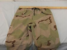 Adult Unisex US Army Issue DCU Desert Gortex Pants Missing Size Tag 32579