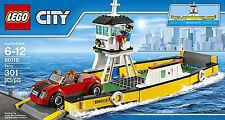 NEW LEGO CITY Ferry 60119 Boat Captain Gates Deck Dock Red Car Building Set NIB