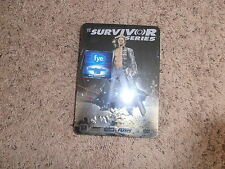 SURVIVOR SERIES 2007 wwe EXCLUSIVE TIN dvd BRAND NEW wrestling SHIP WORLDWIDE