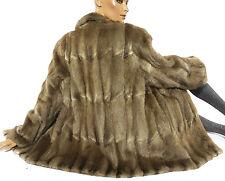 Bisam Pelzjacke Vintage Echtfell Jacke Pelz Muskrat fur jacket Damen fourrure