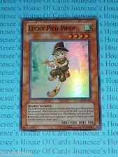 Yu-gi-oh Lucky Pied Piper TAEV-EN021 Super Rare Mint (U) New