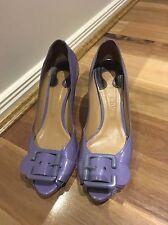 Genuine Chloe Buckle Heels 40.5 Greyish Purple
