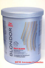 WELLA BLONDOR Multi Blonde Hair Lightening Powder Bleach 800gr