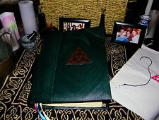 BOS Handcrafted Charmed Inspired Book of Shadows Prop Replica 500 Pages & Bonus