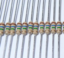 15  pcs 51 ohm 1/4W 5% Carbon Film Resistors. (ask me for other quantities).