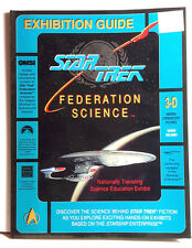 1992 Star Trek Federation Science Exhibition Guide Book-OMSI Travailing Exhibit