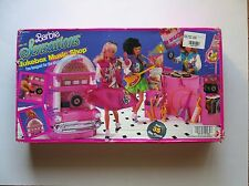 #7361  BARBIE& THE SENSATIONS JUKEBOX MUSIC SHOP PLAY SET  (c) 1987