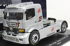 FLY 08004 TRUCK27 MERCEDES BENZ ATEGO TRUCK FIA ETRC NEW 1/32 SLOT CAR W/DISPLAY