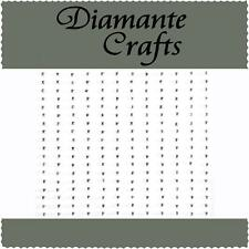 180 x 1mm Clear Diamante Self Adhesive Rhinestone Craft Embellishment Gems