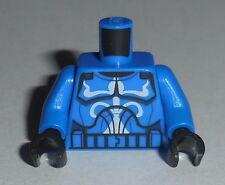 TORSO M029 Lego Male Blue Clone Trooper Senate Commando Captain NEW Star Wars