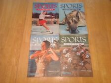 Vintage SPORTS ILLUSTRATED Magazines Lot of 4 Issues - February 1955 - GUC