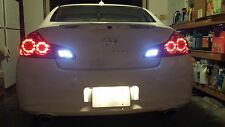 White LED Reverse Lights/Back Up For Mazda 5 2006-2010 2007 2008