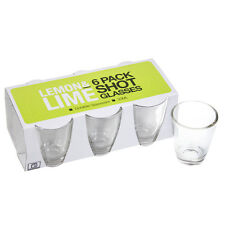 Lemon & Lime 30ml Shot Glass - 6 Pack - Durable Glassware