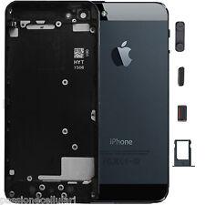 SCOCCA Posteriore per iPhone 5 Nero COVER RETRO TELAIO housing copri batteria